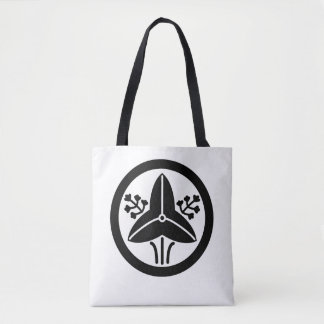 "It stands in the house crest ""circle, the water tote bag"