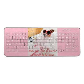 It sucks to be you key board wireless keyboard