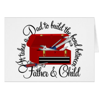 It Takes A Dad Greeting Card