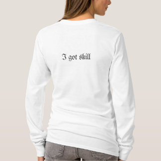It takes skill to trip on flat surfaces T-Shirt