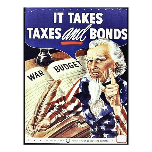 It Takes Taxes And Bonds Custom Flyer