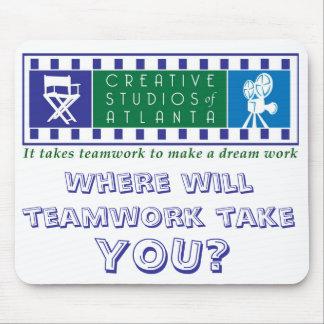 It takes teamwork to make a dream work Mousepad