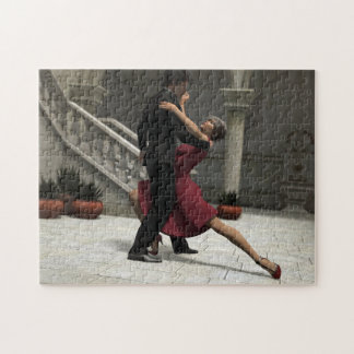 It Takes Two to Tango Jigsaw Puzzle