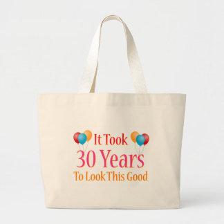 It Took 30 Years to Look This Good Jumbo Tote Bag