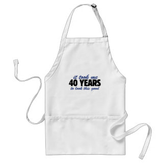 It took 40 years to look this good standard apron