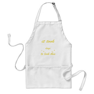 It took 80 years to look this good standard apron