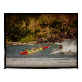 It travels with 1 to surfer x Kauai Postcard