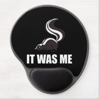 It Was Me Skunk Gel Mouse Pad