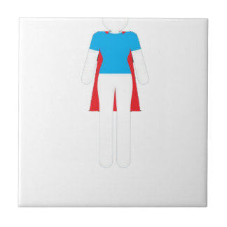 It Was Never A Dress - Wonder Super Girl Woman Ceramic Tile