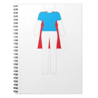 It Was Never A Dress - Wonder Super Girl Woman Notebook