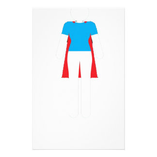 It Was Never A Dress - Wonder Super Girl Woman Stationery