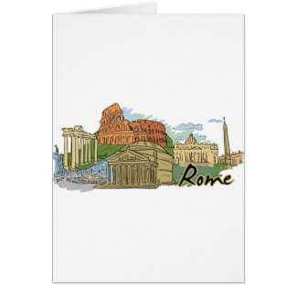 It Wasn't Built In A Day (Rome) Card