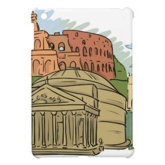It Wasn't Built In A Day (Rome) iPad Mini Cover