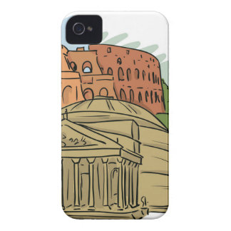 It Wasn't Built In A Day (Rome) iPhone 4 Cover