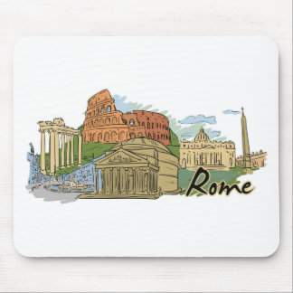 It Wasn't Built In A Day (Rome) Mouse Pad