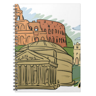 It Wasn't Built In A Day (Rome) Notebooks
