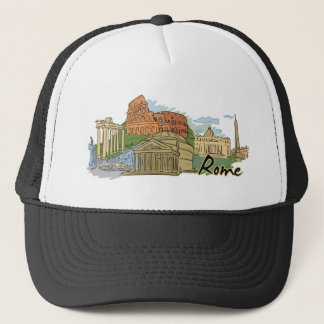 It Wasn't Built In A Day (Rome) Trucker Hat