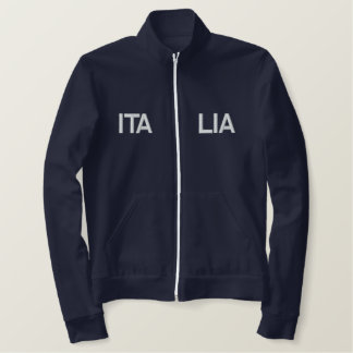 Italia 2014 embroidered sports Italy 2012 top Jacket
