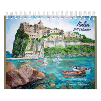 Italia 2017 Calendar