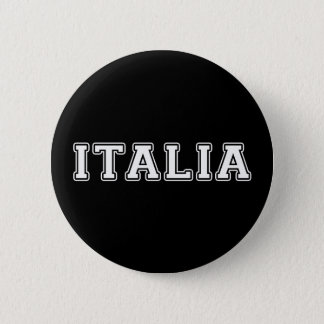 Italia 6 Cm Round Badge