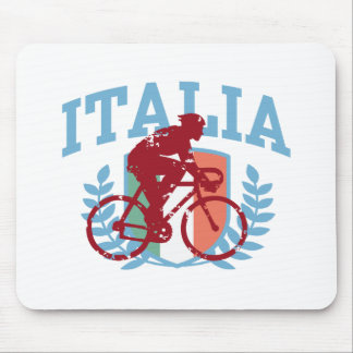 Italia Cycling (male) Mouse Pad