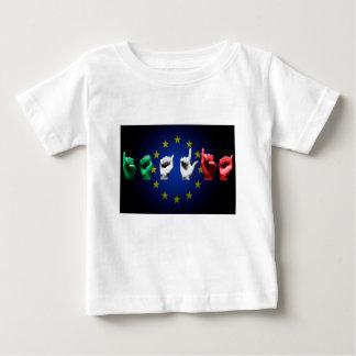 italia europe black baby T-Shirt