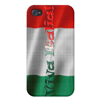 ITALIA Flag iPhone Case Covers For iPhone 4