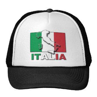 Italia Flag Land Cap