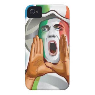 Italia Football Fan Reaction iPhone 4 Case