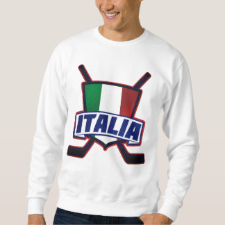 Italia Hockey su Ghiaccio Sweatshirt