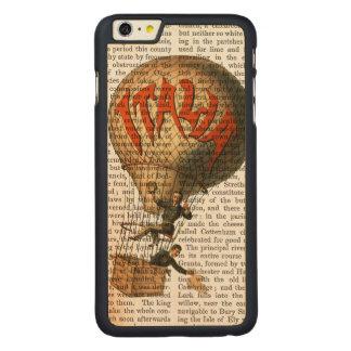 Italia Hot Air Balloon Carved® Maple iPhone 6 Plus Case