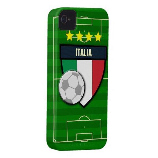Italia Italy Soccer iPhone 4 Cover