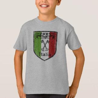 Italia Vintage Medieval Crest Kids T-Shirt