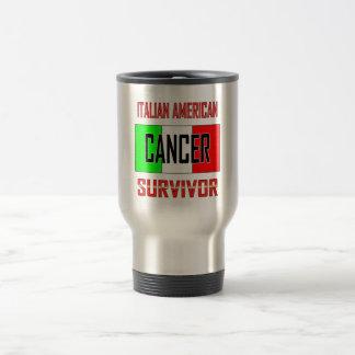 Italian American Cancer Survivor Stainless Steel Travel Mug