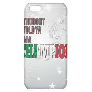 Italian and a Champion iPhone 5C Case
