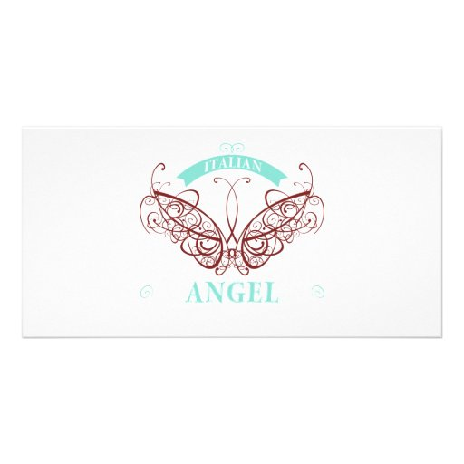 Italian Angel Picture Card