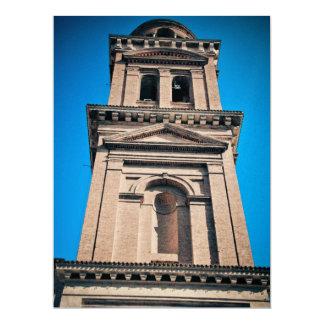 Italian architecture 17 cm x 22 cm invitation card