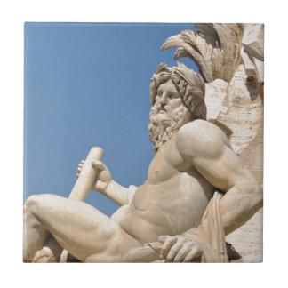Italian architecture in Piazza Navona,Rome, Italy Ceramic Tile