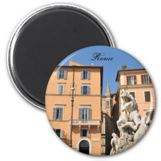 Italian architecture in Piazza Navona,Rome, Italy Magnet