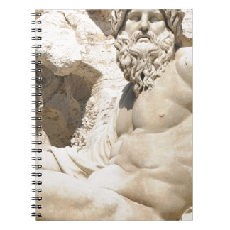 Italian architecture in Piazza Navona,Rome, Italy Notebook