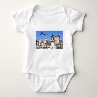 Italian architecture in Rome, Italy Baby Bodysuit
