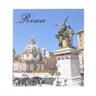 Italian architecture in Rome, Italy Notepad