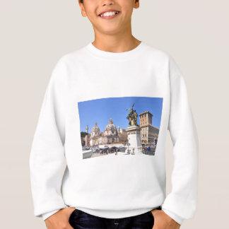 Italian architecture in Rome, Italy Sweatshirt