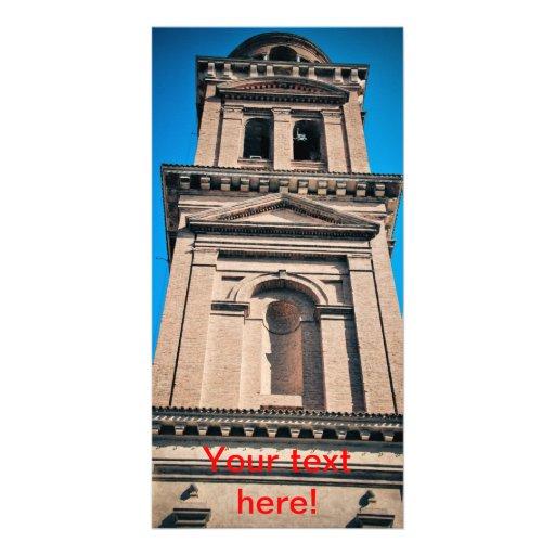 Italian architecture photo card template