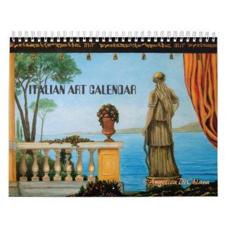 ITALIAN ART CALENDAR- ITALY CALENDAR
