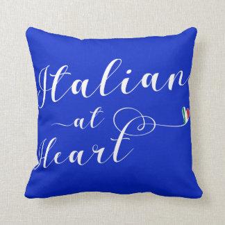 Italian At Heart Throw Cushion, Italy Cushion