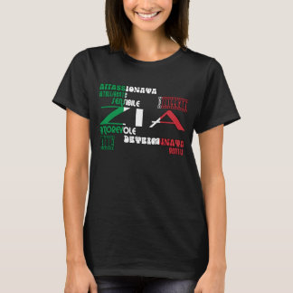 Italian Aunts : Qualities T-Shirt