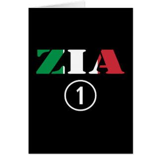 Italian Aunts : Zia Numero Uno Card