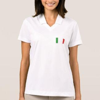 Italian Bella long sleeve Polo Shirt