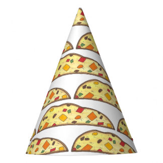 Italian Biscotti Christmas Holiday Xmas Foodie Party Hat